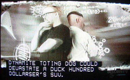 'Mythbusters' example with misreendered live captions
