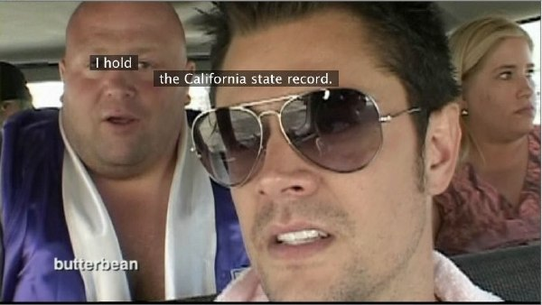 Mangled caption from 'Jackass: The Movie' (2)